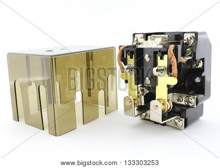 High power relay, electronic circuit breaker, automation