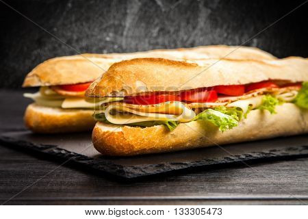Panini grilled sandwich
