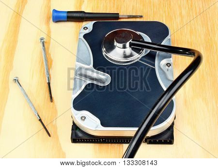 Stethoscope On The Hard Disk