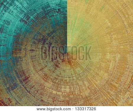 Spherical colorful abstract retro background, aged vintage texture. With different color patterns: yellow (beige); brown; green; blue; red (orange); purple (violet)