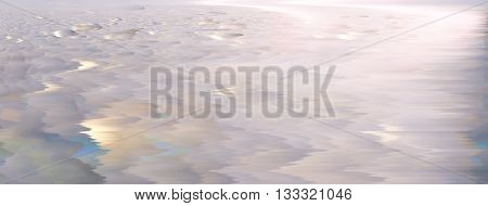 Abstract icy desert background of blurred surface