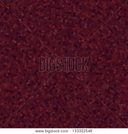 Simple Background Consisting Of Small  Circles, Vector Illustration. Dark Brown, Purple Colors.