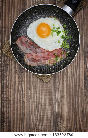 Bacon With Sunny Side Up