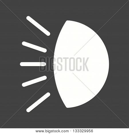 Car, headlight, light icon vector image. Can also be used for car servicing. Suitable for use on web apps, mobile apps and print media.