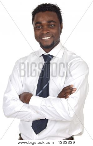 Attractive African Businessman