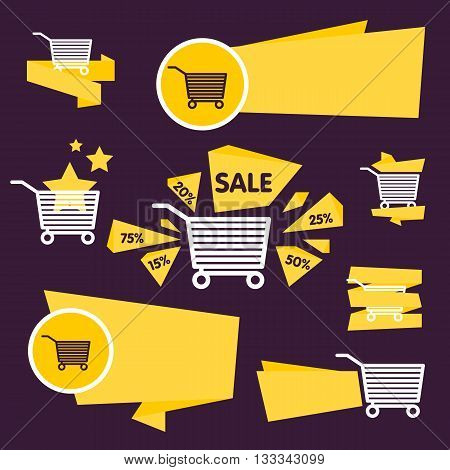 Sale tag vector isolated. Sale sticker with special advertisement offer. Tags collection. Super sale tag. Half price tag.