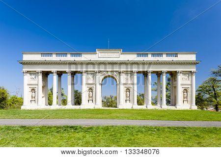 Colonnade on Reistna, Czech Republic