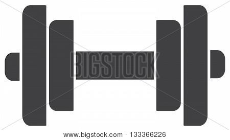 weight plates barbell symbol vector strength weight training