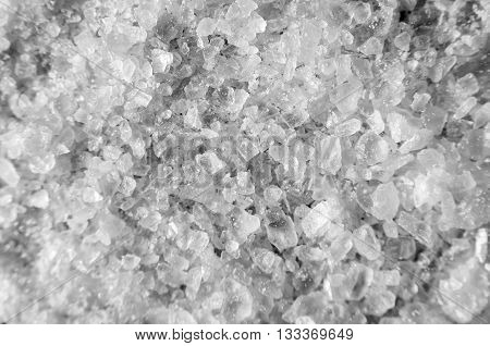 Detailed Coarse Salt Texture Background