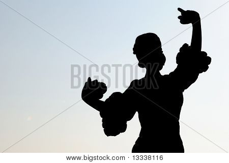 Spanish Dancer Silhouette