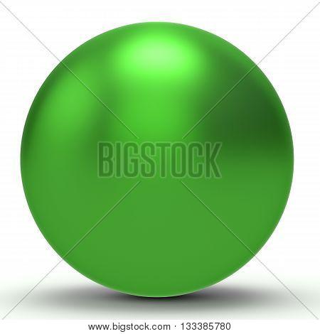 3D Green Sphere
