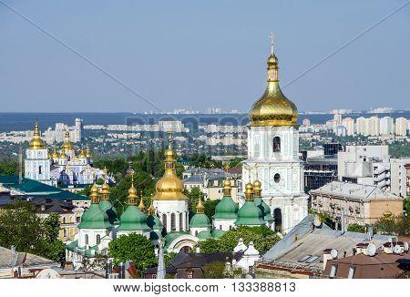 Kiev Pechersk Lavra Day View