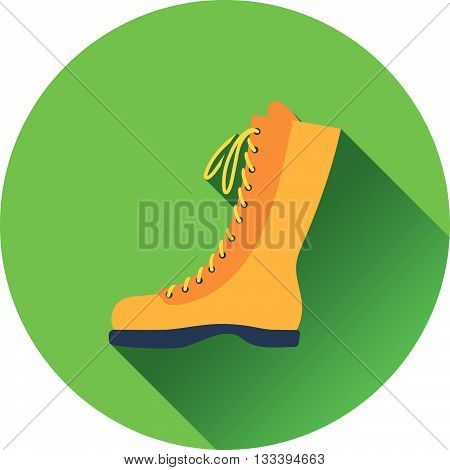 Icon Of Hiking Boot