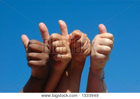 Thumbs Up Hands