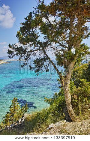 Amazing Panorama of Emblisi Fiskardo, Kefalonia, Ionian Islands, Greece