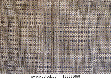 Brown Bamboo Straw Mat For Background