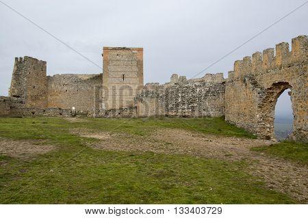 Castle Gormaz in Soria, Castilla leon, Spain