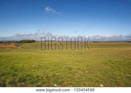 Rural landscape in Soria, Castilla Leon, Spain