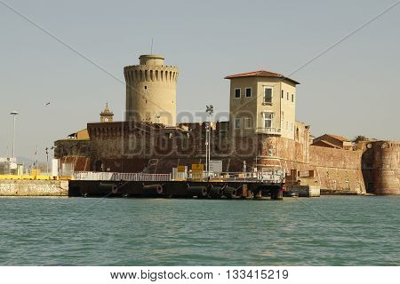Canals Of The City Of Livorno, Italy