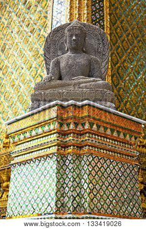 Siddharta   In The   Bangkok Asia   Thailand      Step     Wat  Palaces