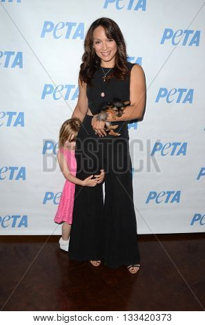 LOS ANGELES - JUN 7:  Mayte Garcia at the Peta Celebrates Prince on his Birthday at the Peta's Bob Barker Building on June 7, 2016 in Los Angeles, CA