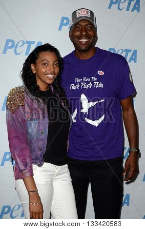 LOS ANGELES - JUN 7:  daughter, John Salley at the Peta Celebrates Prince on his Birthday at the Peta's Bob Barker Building on June 7, 2016 in Los Angeles, CA