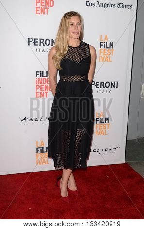 LOS ANGELES - JUN 6:  Katee Sackhoff at the Girl Flu Premiere at the Arclight Theater on June 6, 2016 in Culver City, CA