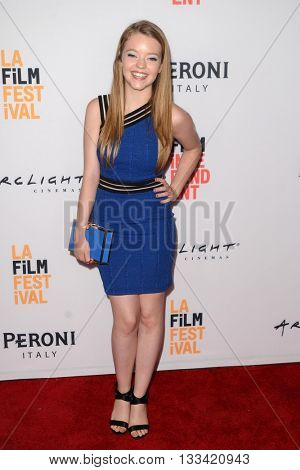 LOS ANGELES - JUN 6:  Jade Pettyjohn at the Girl Flu Premiere at the Arclight Theater on June 6, 2016 in Culver City, CA