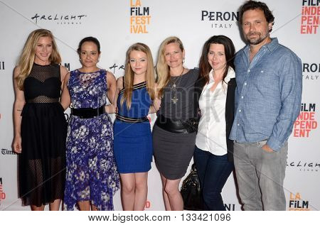 LOS ANGELES - JUN 6:  Katee Sackhoff, Judy Reyes, Jade Pettyjohn, Dorie Barton, Heather Matarazzo, Jeremy Sisto at the Girl Flu Premiere at the Arclight Theater on June 6, 2016 in Culver City, CA