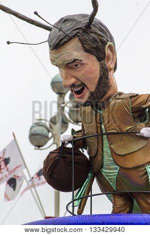 Viareggio's Carnival 2016