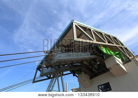 Cableway Mechanism In San Marino