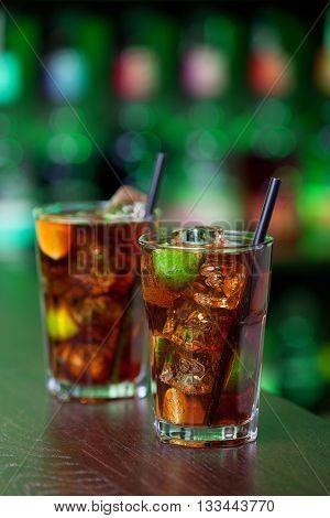 Cuba Libre is a famous Cuban cocktail.
