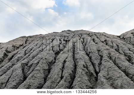 Heap Of Gravel With Water Stains