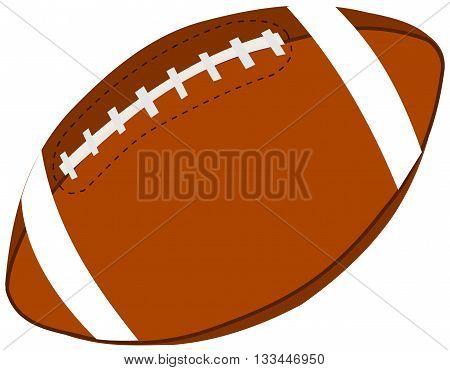 rugby ball , American football ball ,
