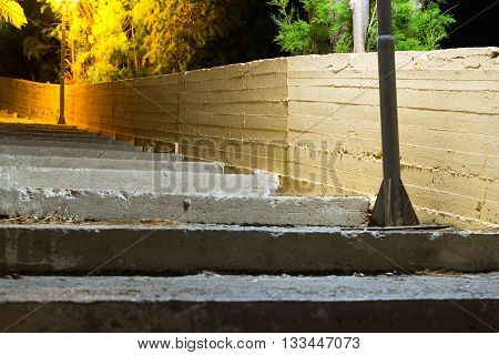 Old Street Concrete Stairs, Bali, Crete