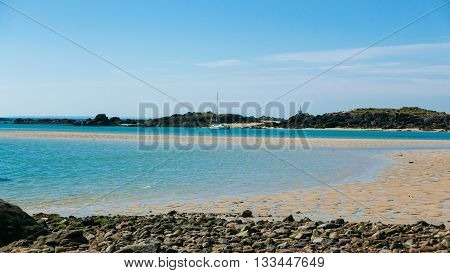 Low Tide Archipelago Of Iles De Chausey (1)