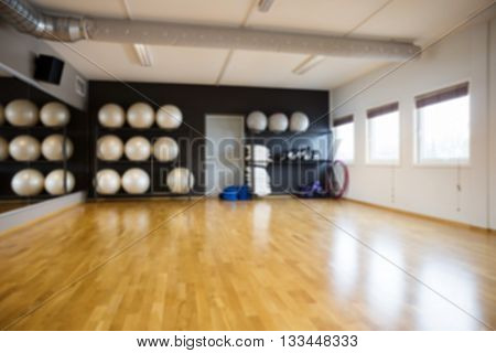 Pilate Balls In Gym