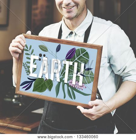 Earth Plant Ecology Environment Natural Resources Concept