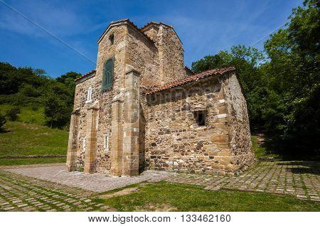 San Miguel de Lillo pre-romanesque church century IX