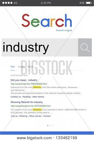 Industry Manufacturing Production Energy Company Concept