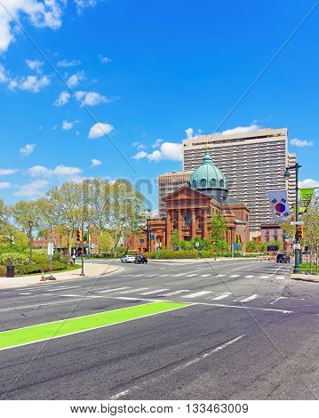 Cathedral Basilica Of Saints Peter And Paul Of Philadelphia Pennsylvania