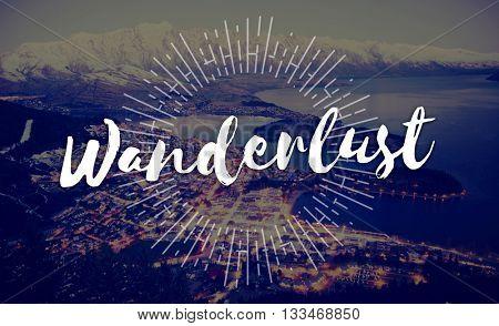 Wanderlust Adventure Camping Explore Journey Concept