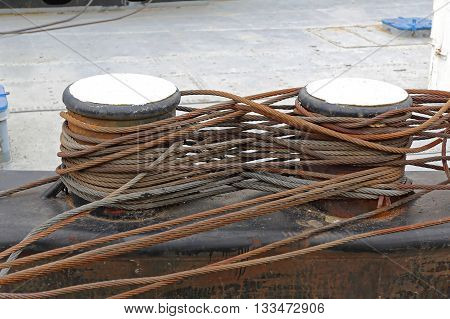 Steel Wire Rope Cables For Barge Ship