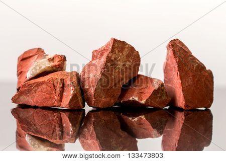 lot of Red Jasper uncut crystal Healing gemstones