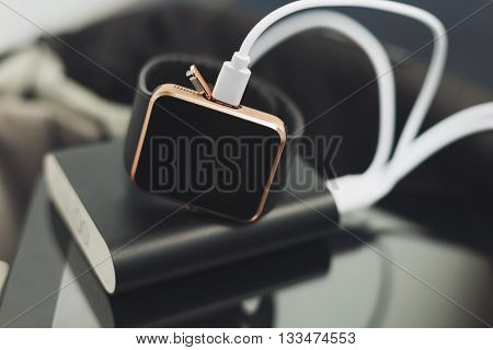 Powerbank Charging Smart Watch