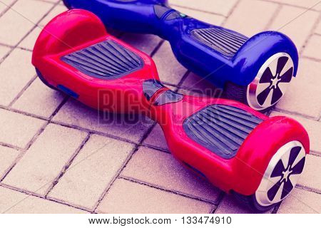 Mini Segway Or Hover Board Scooter