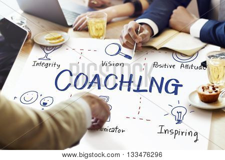 Coaching Coach Development Educating Guide Concept