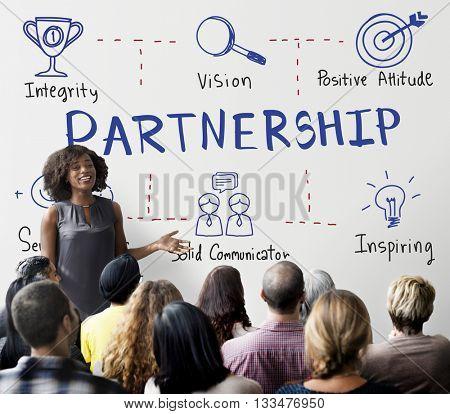 Partnership Agreement Alliance Association Unity Concept