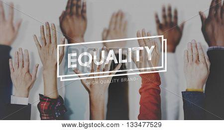 Equality Balance Fairness Respect Relationship Concept