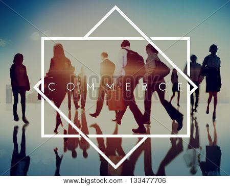 Commerce Marketing Retail Sale Service Concept